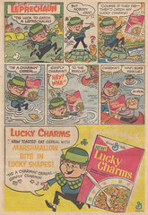 Lucky Charms / Leprechaun (micky the pixel) Tags: comics comic cereal advertisement luckycharms leprechaun anzeige kobold