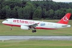 TC-OGI (vriesbde) Tags: hannover airbus a320 haj airbusa320 a320200 langenhagen a320232 atlasjet airbusa320232 airbusa320200 hannoverlangenhagen eddv tcogi