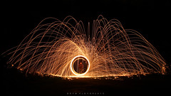 swirly_2 (Bryn Floyd) Tags: black night spiral nightshoot sparks afterdark wirewool