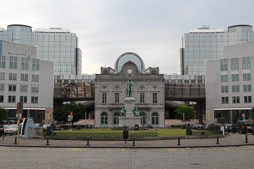 Bruxelles - Place du Luxembourg