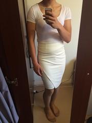 Skirt and Top 4 :Part 2 (SammyLeCD) Tags: stockings drag dress tights skirt curvy crossdressing tgirl teen sissy tranny pantyhose crossdresser crossdress trap nylon gurl mtf