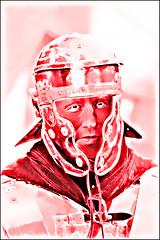 Roman Soldier #2 (vidmantasmarknas) Tags: portrait man soldier army war roman military helmet empire legionary