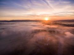 DJI Phanton 3 Advanced - Sunrise and Mist (myfrozenlife) Tags: phantom3 drone england fog mist multicopter southgloucestershire sunrise quadcopter keynsham uav djipahntom3advanced djiphantom unitedkingdom gb