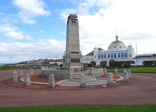 War Memorial & Spanish City, Whitley Bay