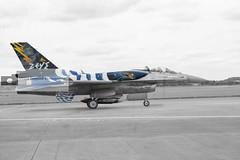 Hellenic (Greek) Airforce F-16 (zeus) (athinaengland) Tags: hellenic greekairforce f16 militaryjet aircraft plane aviation jet militaryplane riat