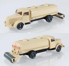WIK-649-beige (adrianz toyz) Tags: mercedesbenz mercedes wiking plastic toy model 187 scale ho l5000 64 649 street sweeper