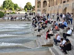 Iran 5971 (blackthorne57) Tags: iran persia esfahan polekhajubridge khajubridge zayandehriver