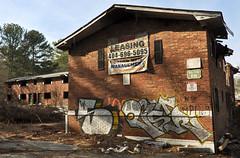 DSC_1617 (rob dunalewicz) Tags: 2017 atlanta abandoned urbex graffiti tags cinco lsd aub