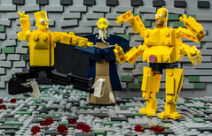 Mortal Kombart (Baron Julius von Brunk) Tags: lego simpsons mortalkombat bartsimpson homersimpson mrburns brunk magnifigures