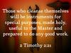 2 Timothy 2:21 (joshtinpowers) Tags: timothy bible scripture