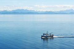 Intrepid (ajketh) Tags: intrepid boat shore water crystal blue clear skies skipper ship alaska fishermen fish ocean pacific