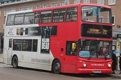 National Express West Midlands Transbus Trident 2/Transbus ALX400 4628 (BX54 XRU) (Birmingham Central) (john-s-91) Tags: nationalexpresswestmidlands transbustrident2 transbusalx400 4628 bx54xru solihull route73 amazonvideo