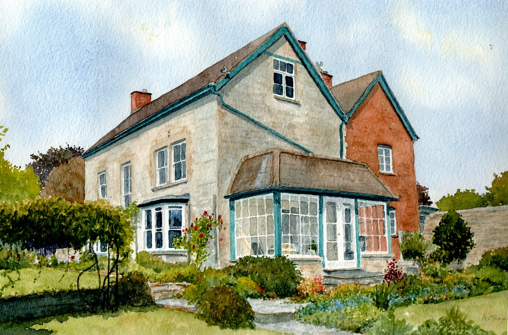 The World 39 S Best Photos Of Cottage And Watercolor Flickr