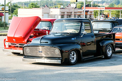 Ford F100 Custom by Phil (aguswiss1) Tags: fordf100custombyphil ford f100 custom hot rod hotrod uscar pickuptruck pickup blackcar cruiser carshow carevent