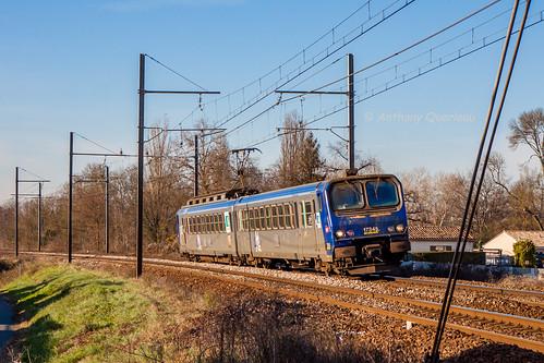 07 janvier 2017 z 7345 Train 866721 Bordeaux -> Langon Portets (33)