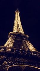 Eiffel Tower (merkelphotography) Tags: architecture city clear sky night outdoors paris france tour eiffel travel destinations amateurphotography