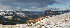 Derwent (Ice Globe) Tags: central fells fell lake district cumbria helvellyn raise derwent snow snowy winter wintry white ice icy cold frozen mountain mountains peak peaks landscape landscapes panorama panoramic nikon d5100 35mm sticks pass bassenthwaite skiddaw keswick