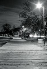 Night Time on the Boardwalk Two (Bill Smith1) Tags: beaches2017 believeinfilm billsmithsphotography hc110b heyfsc ilfordhp5400 nikkorai50f2lens nikonfm toronto
