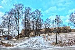 Fredriksten Fortress (Skau) Tags: fredriksten festning halden norway snow fortress