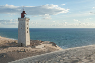 The Rubjerg lighthouse