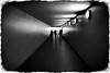 tunnel to the light (kurtwolf303) Tags: canoneos600d monochrome digitalphotography people sw bw tunnel lightshadows menschen leute urbanlifeinmetropolis unlimitedphotos dark dunkel streetphotography strasenfotografie urban availablelight 250v10f topf25 topf50 500v20f topf75 750views topf100 800views kurtwolf303 900views 1000v40f 1500v60f 2000views topf150 topf200 3000views