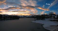 P_20170131_170222_PN_1 (pierluigi_p73) Tags: panorama landscape lago lake tramonto sunset lagosanruffino amandola neve2017 ghiaccio ice snow lagoghiacciato