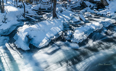Hollow River Falls (stevebowmanphotography) Tags: waterfalls river whitewater rapids chute snow ice winter