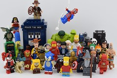 ️️I'm a geek 👾 (Alex THELEGOFAN) Tags: lego legography minifigure minifigures minifig minifigs minifigurine movie minifigurines marvel monster the team tv super heroes hulk harley tardis dalek carbonite han solo boba fett batman spiderman spongebob square pants gandalf gremlins simpson dc comics captain america avengers sonic toy story