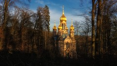 The Russian Orthodox Church of Saint Elizabeth (Parchman Kid (Jerry)) Tags: church wiesbaden germany parchmankid sony a6000 russian orthodox neroberg rheinlandpfalz