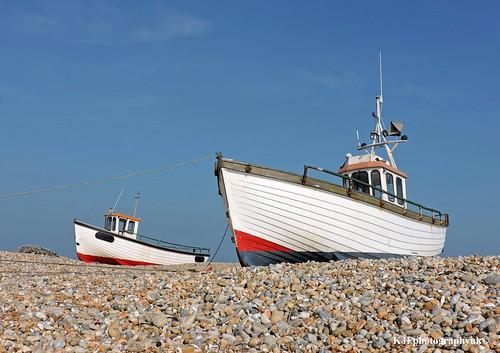 Fishing Boats, Dungeness, Kent
