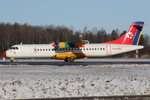 Danish Air Transport (DAT) ATR 72-202 OY-RUG 170223 ARN