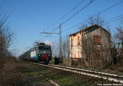 E405.008 MIR (Massimo Minervini) Tags: e405 e405008 mir mercitalia trenitalia fs coils ferrovia ferro carritelonati rail lineamantovacremona sansavino cremona canon400d