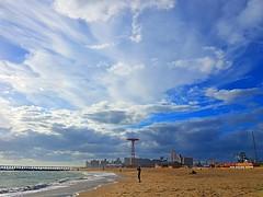 #brightonbeach #cony #island #sky #clouds #sea #beach #photography #samsung #s7edge (DEDLIP) Tags: island samsung s7edge sea beach brightonbeach photography clouds cony sky