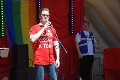 """Cllr Mike Sparling speaking at Plymouth Pride 2015 - Plymouth Hoe • <a style=""""font-size:0.8em;"""" href=""""http://www.flickr.com/photos/66700933@N06/20442457378/"""" target=""""_blank"""">View on Flickr</a>"""