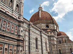Florence Cathedral Italy2015 191 (saxonfenken) Tags: italy brown white circle square florence cathedral shapes tuscany marble 191 rectangles gamewinner friendlychallenges thechallengefactory 191italy
