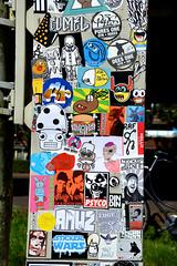 stickers (wojofoto) Tags: stickers stickerart stickercombo sticker amsterdam streetart wojofoto wolfgangjosten wojo psyco