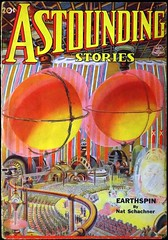 Astounding Stories Vol. 19, No. 4 (June, 1937). Cover by Wesso (lhboudreau) Tags: magazine sciencefiction pulp magazines pulpmagazine pulpcover 1937 magazinecover magazinecovers astounding pulps pulpcovers vintagemagazine vintagemagazines pulpart pulpmagazines astoundingsciencefiction wesso astoundingstories classicsciencefiction vintagepulp earthspin astoundingmagazine sciencefictionstories streetsmith streetandsmith natschachner june1937 vintagepulps hwesso volume19number4