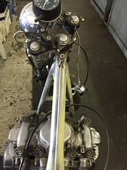IMG_0195 (digyourownhole) Tags: vintage honda motorcycle restoration caferacer cb550 bratt buildnotbought
