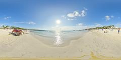 Sa Coma (Undertable) Tags: ocean sea summer sky panorama sun holiday beach clouds strand spain sand meer wasser sommer urlaub himmel bluesky blau mallorca sonne blauerhimmel vr spanien interaktiv equirectangular undertable sacoma kugelpanorama oliverbauer