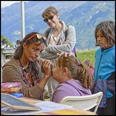 Mam'zelle Pastel (wilphid) Tags: montagne folklore chamonix parc montblanc musique hautesavoie leshouches parcdemerlet