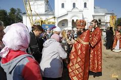 084. Patron Saints Day at the Cathedral of Svyatogorsk / Престольный праздник в соборе Святогорска