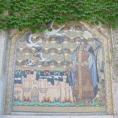 Pavillon hongrois (1909), Gza Rintel Marti - Giardini, Biennale de Venise (Yvette Gauthier) Tags: artnouveau biennale venise venezia italie giardini cramique jugendstil mosaque hongrie jezarintelmaroti