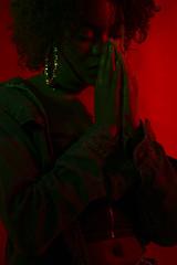Pigment (jeanalindo) Tags: nyc studiolighting blackisbeautiful blackgirls colorgels womenofcolor