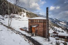 (ilConte) Tags: winter snow church architecture schweiz switzerland chapel chiesa architektur svizzera architettura cappella zumthor sumvitg peterzumthor saintbenedict