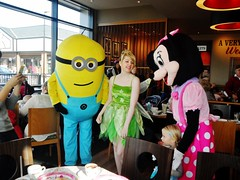 Princess Afternoon tea (Elysia in Wonderland) Tags: party anna costa hot cakes me coffee kids children fun mouse afternoon princess bell tea chocolate tinkerbell disney frog fairy characters minnie tiana meet elsa greet tinker despicable minion
