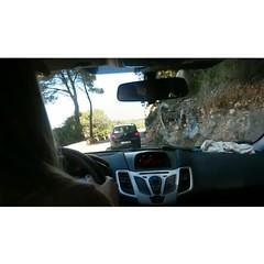 Irmina. The driver #kierowca #rajdowca #kolarze... (irminastyle) Tags: na majorka drodze kierowca bejbe kolarze uploaded:by=flickstagram instagram:photo=957809836998835555187243118 instagram:venuename=playadepuertosoller instagram:venue=257848884 rajdowca