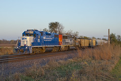 GMTX 2325 at Perry, KS (fullreversal) Tags: up ks sp perry 2325 1063 gmtx kansassub lmc40