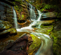 Short Fall (muvro) Tags: waterfall northernbeaches ingleside warriewood