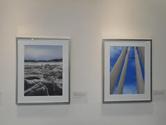 Exhibit View IV, The Far North, The Far North, Portrait of the Arctic, at North View Gallery, Portland Community College, Portland, Oregon, October - November 2015 (LarryCwik) Tags: sky canada abstract oregon portland pipes colorphotography exhibit arctic photograph figure inuit photographicart nunavut fineartphotography artexhibit iqaluit frobisherbay frozensea cwik arcticocean colorphotograph photographyexhibit portlandcommunitycollege icechunks thefarnorth exhibitview larrycwik thermalpipes northviewgallery portraitofthearctic