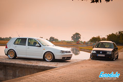 "MK4 & Polo 6N2 • <a style=""font-size:0.8em;"" href=""http://www.flickr.com/photos/54523206@N03/22704235724/"" target=""_blank"">View on Flickr</a>"